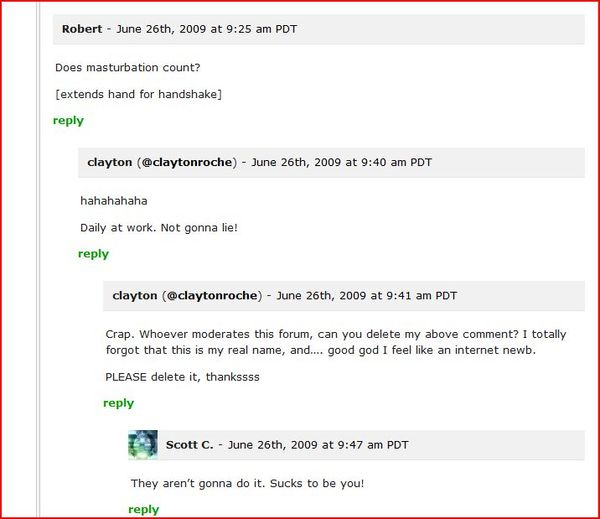 Funniest @TechCrunch comment thread ever. | Robin Wauters